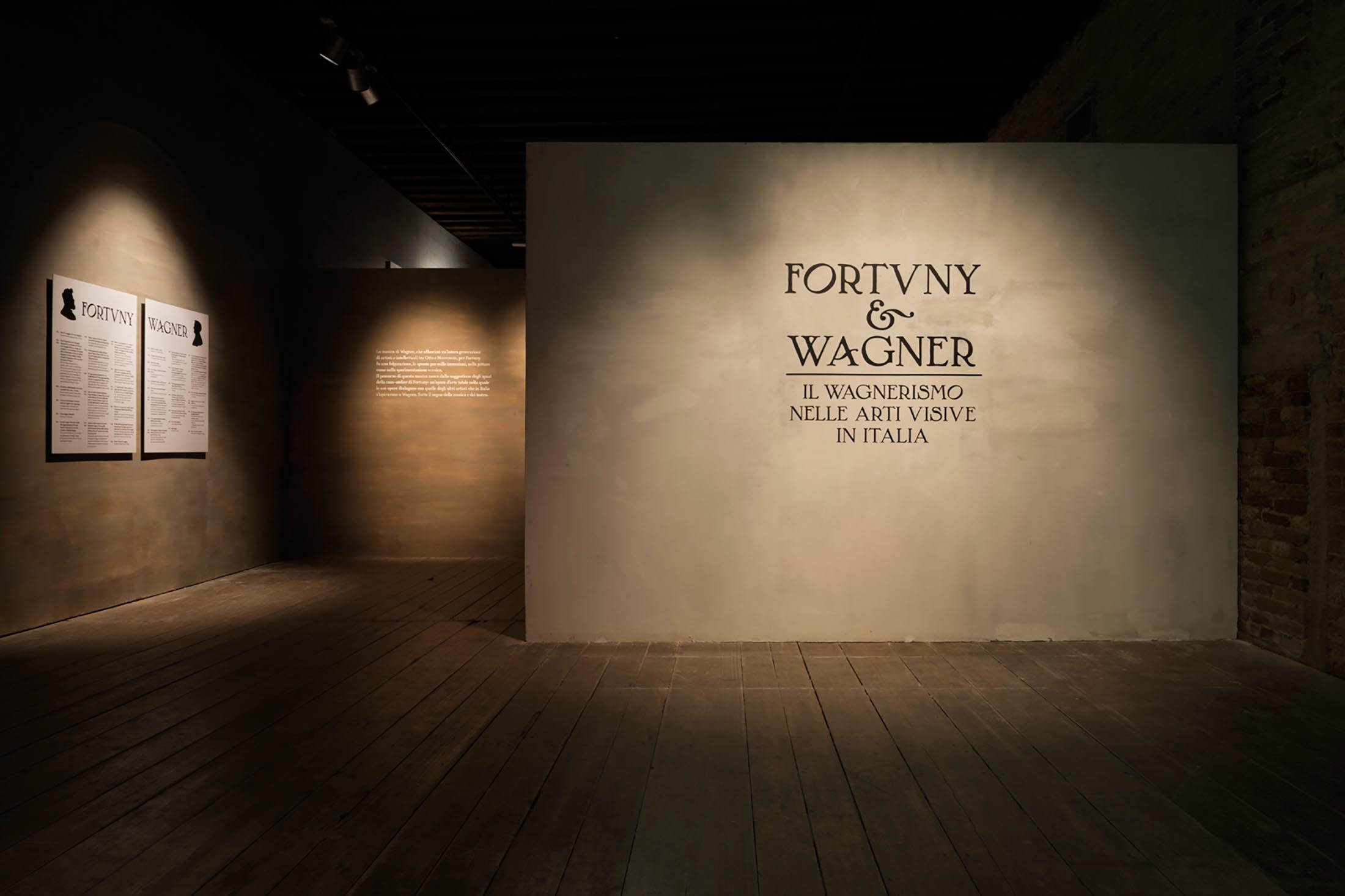 Fortuny & Wagner - ingresso mostra