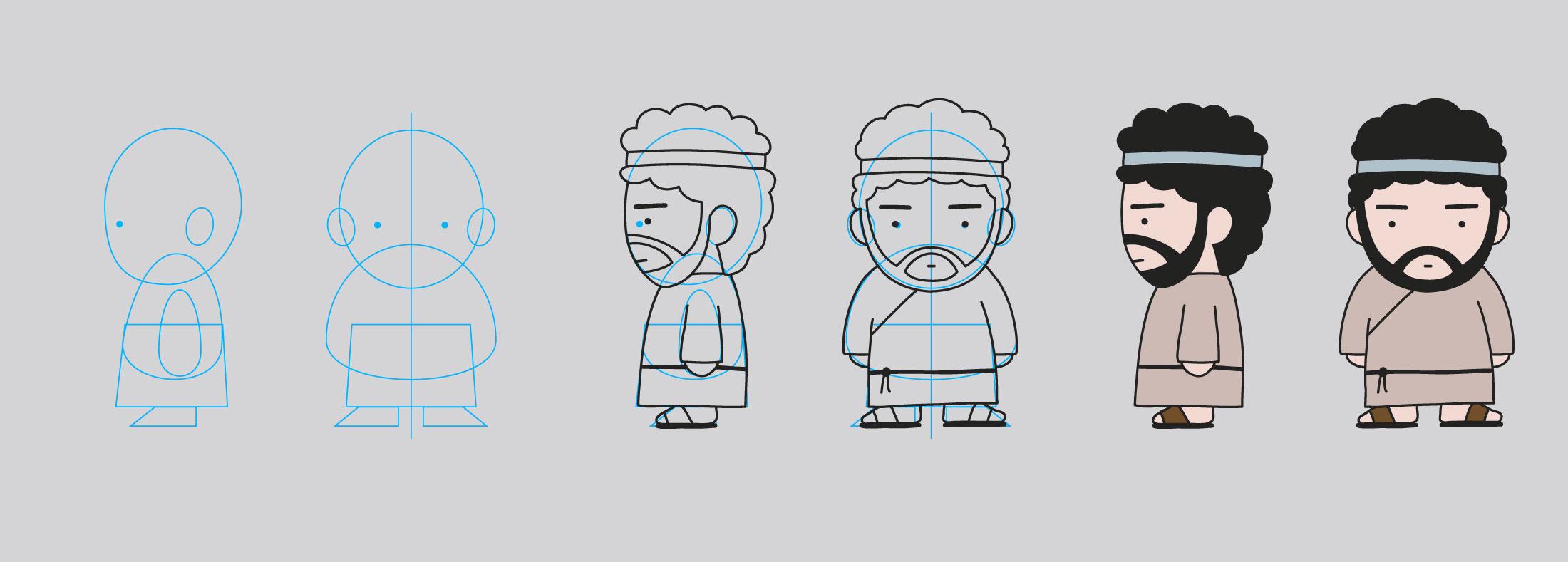 Biba - costruzione personaggio 2