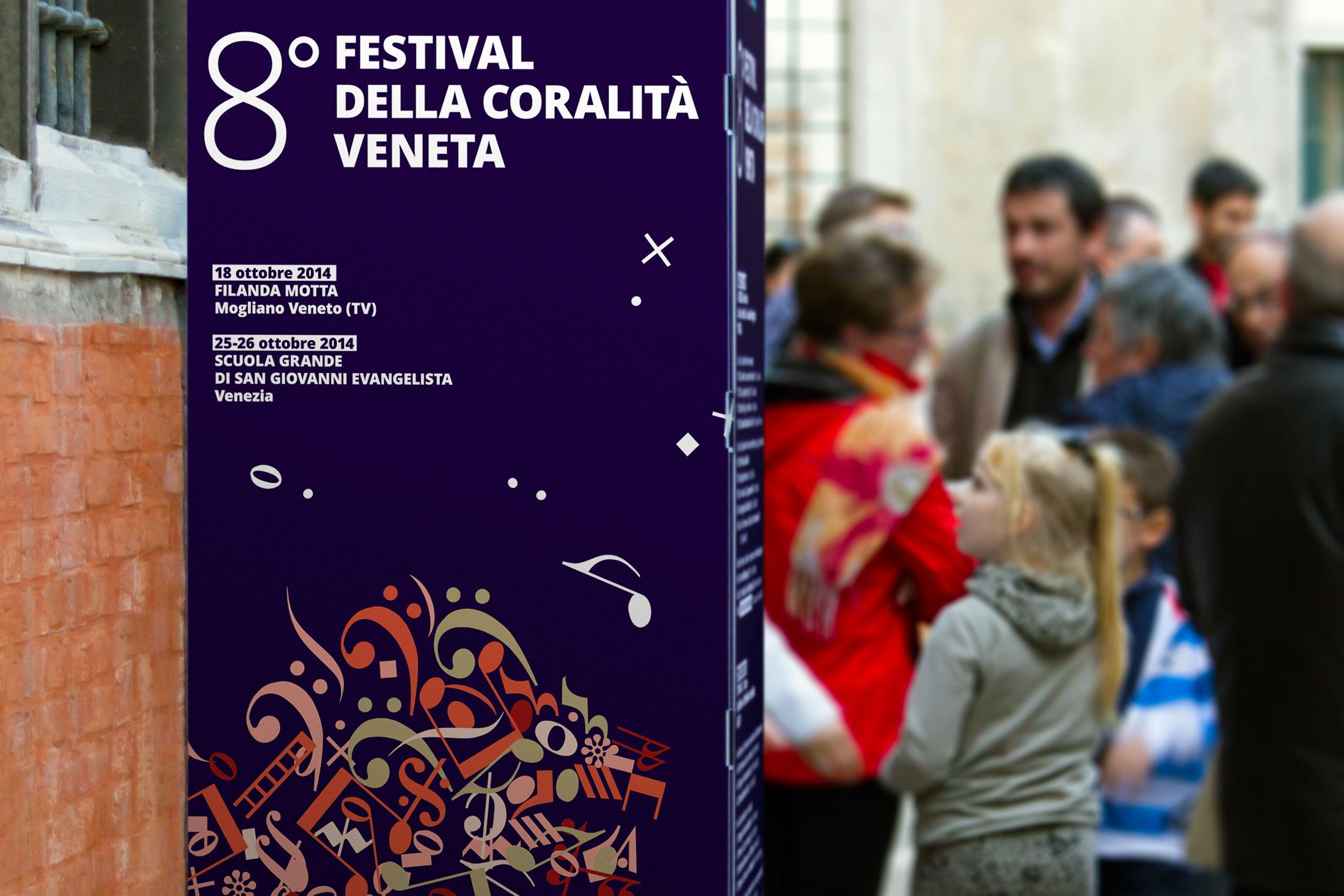 Festival della Coralità Veneta - totem