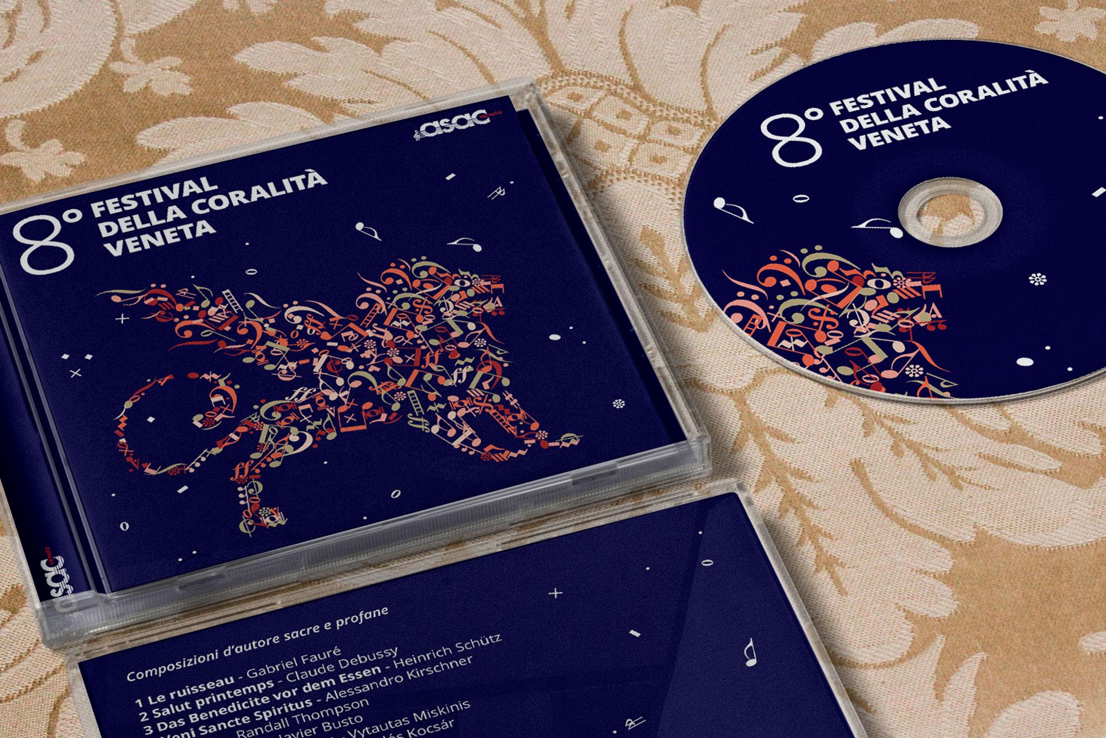 Festival della Coralità Veneta - compact disc