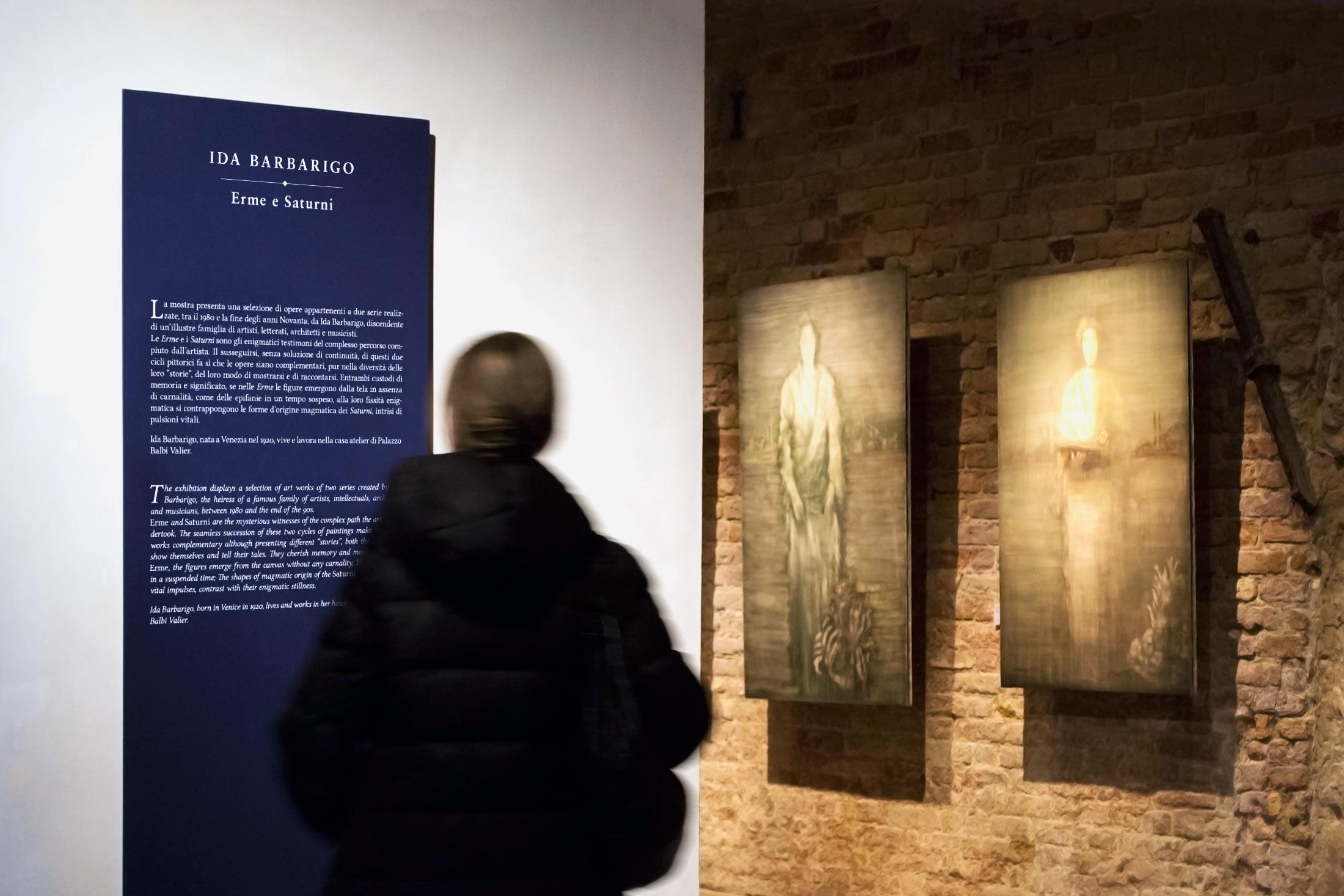 Inverno a Palazzo Fortuny - interno mostra 10