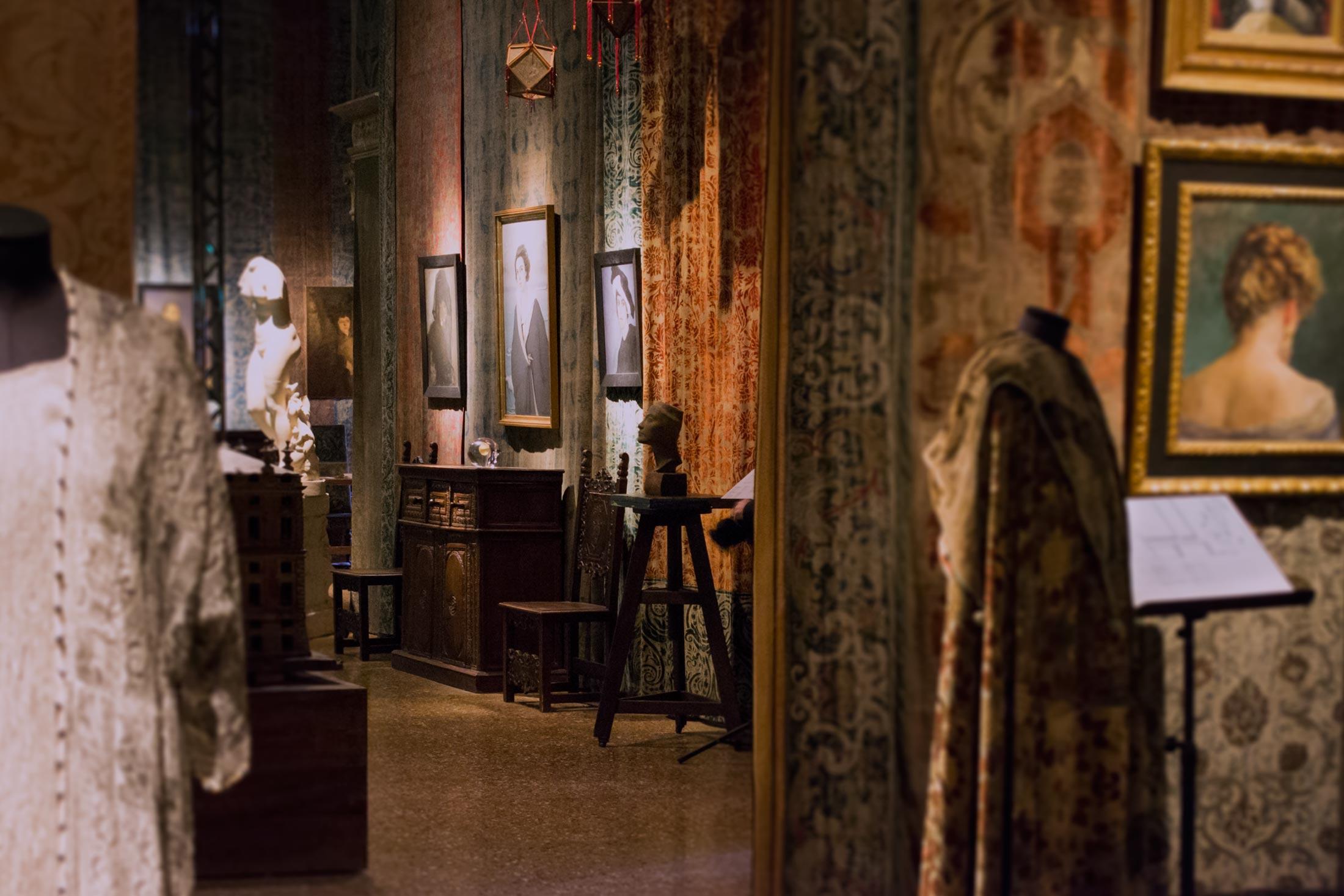 Inverno a Palazzo Fortuny - interno mostra 5