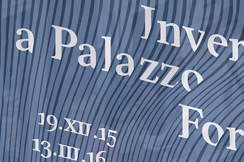 Inverno a Palazzo Fortuny - particolare locandina