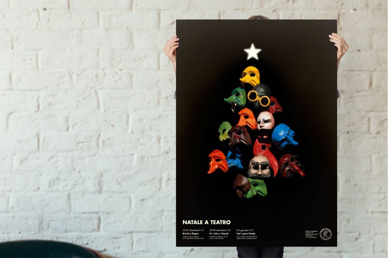 Natale a teatro - poster