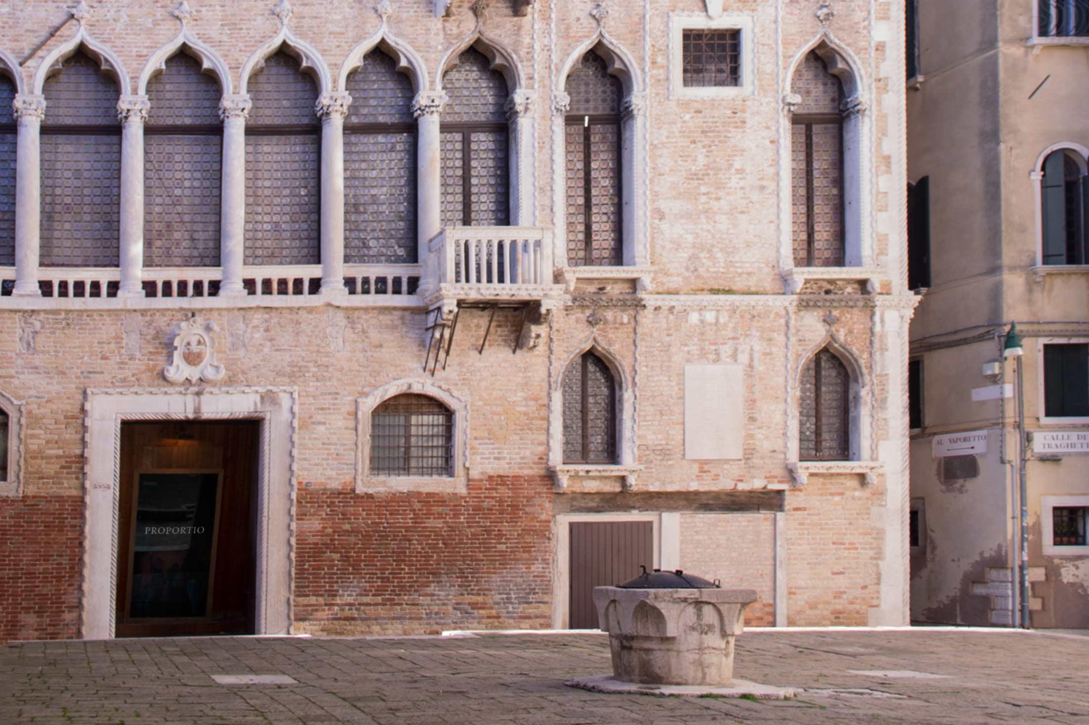 Proportio - esterno Palazzo Fortuny