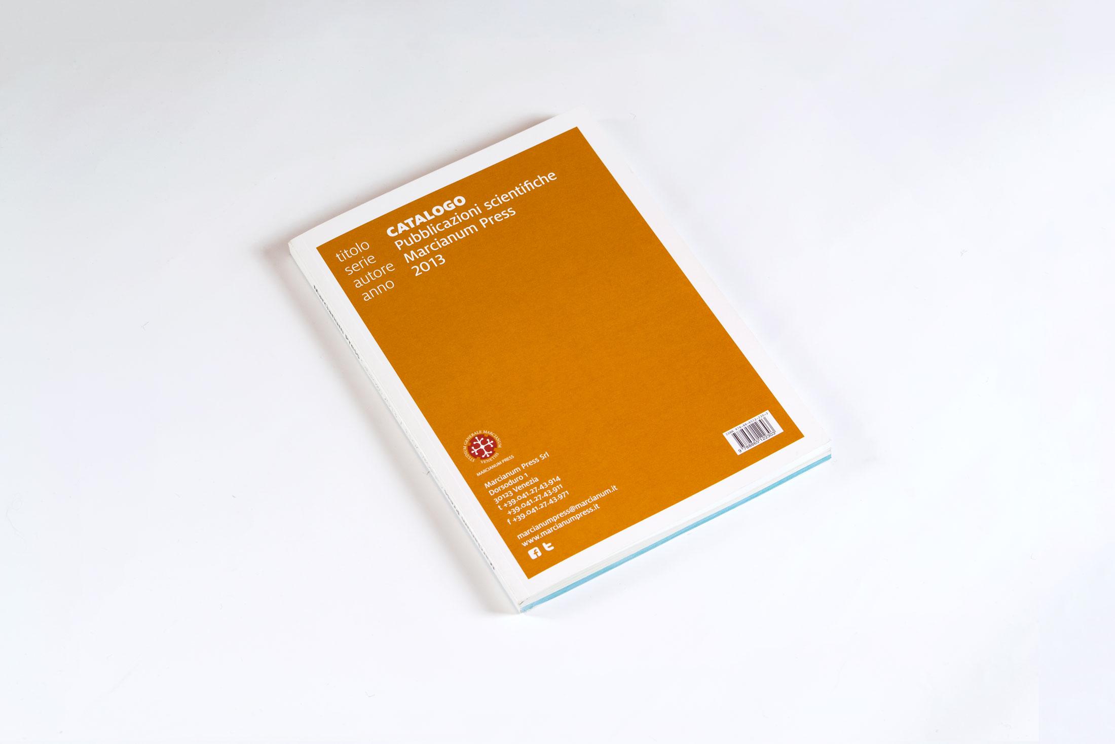 Catalogo Marcianum Press - copertina