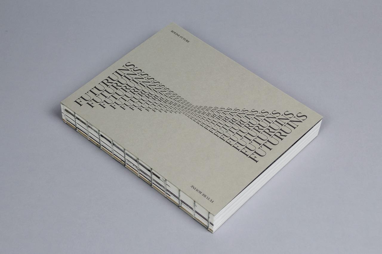 Futuruins catalogo copertina