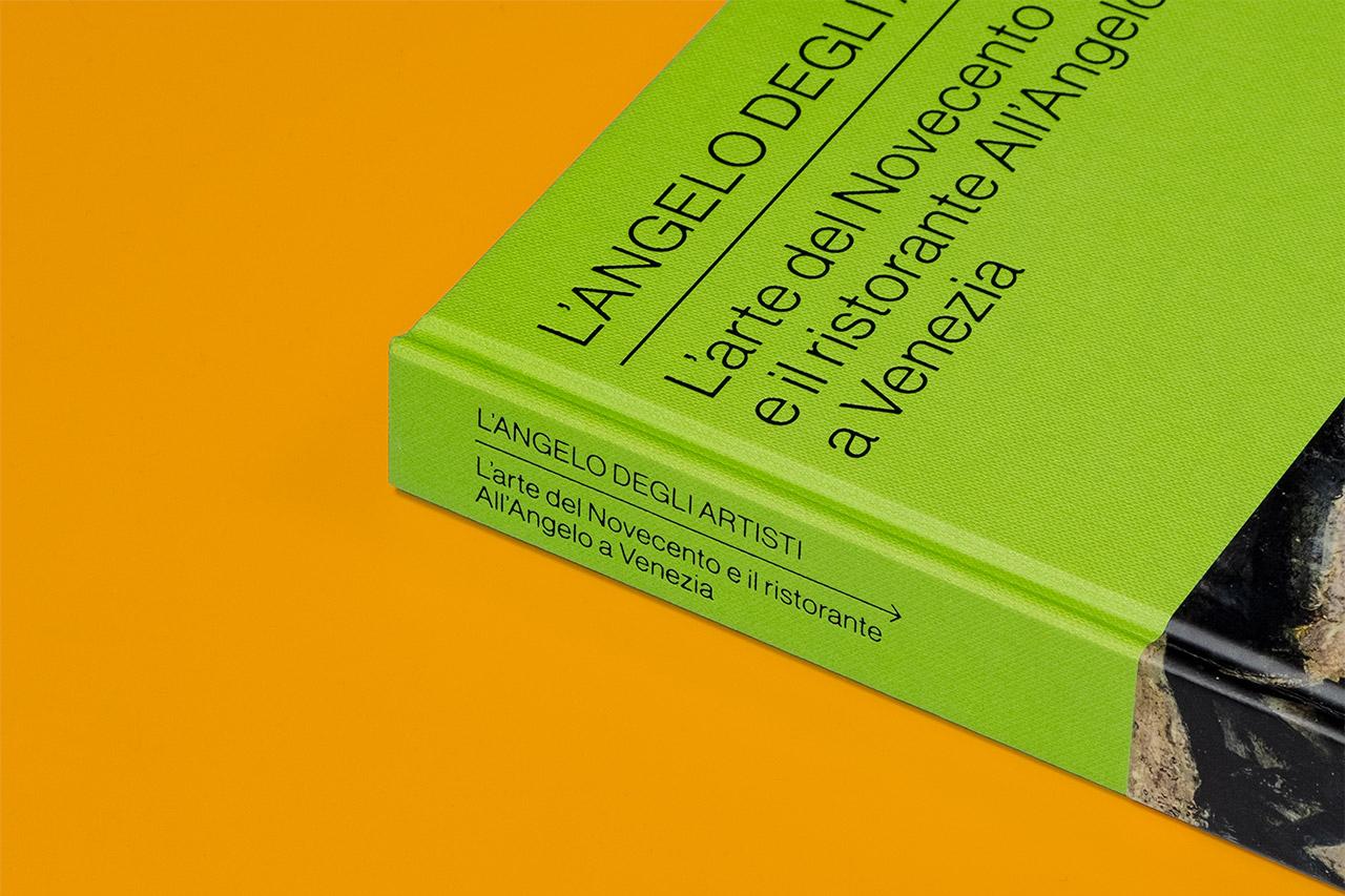 L'Angelo degli artisti - cover catalogo