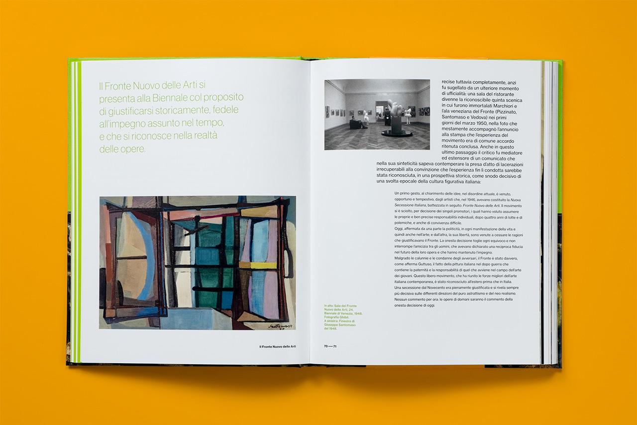 L'Angelo degli artisti - interno catalogo