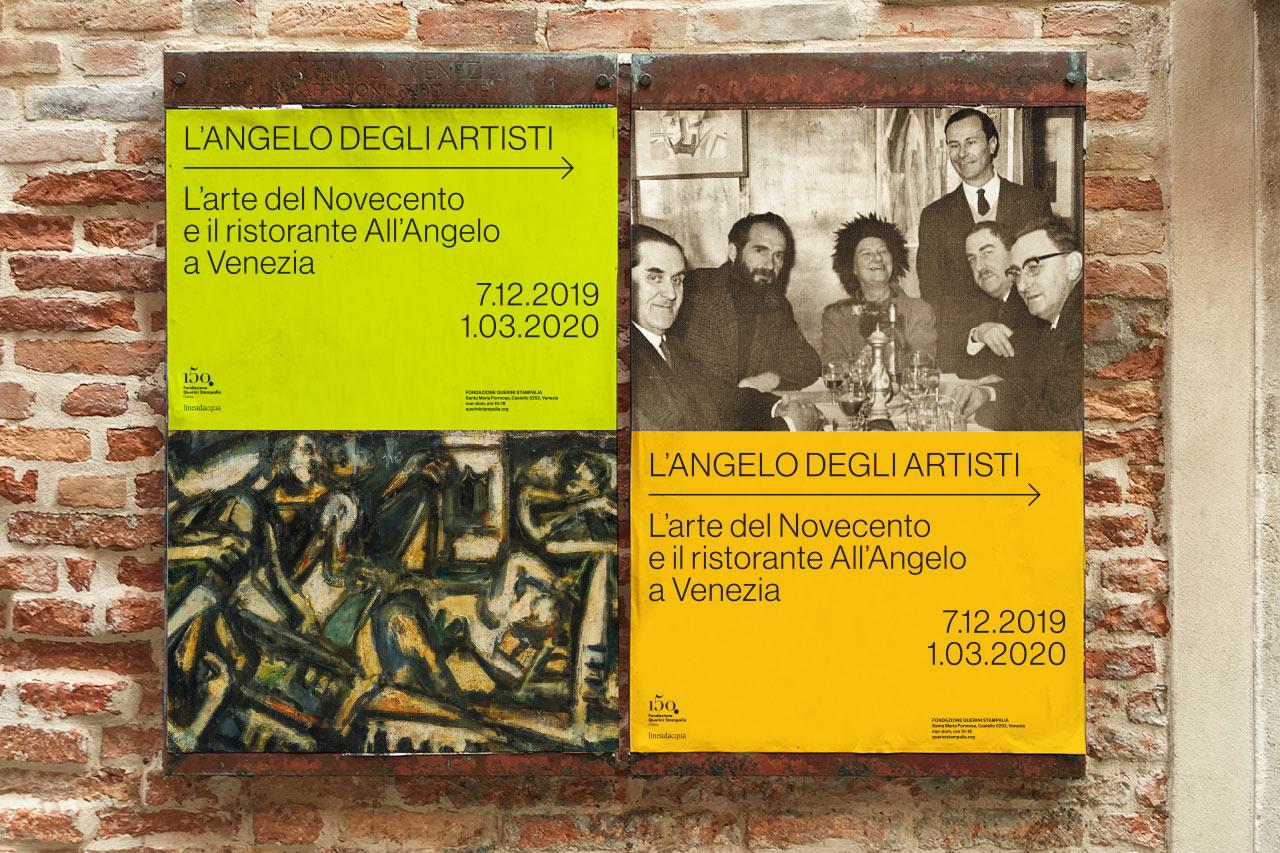 L'Angelo degli artisti - poster