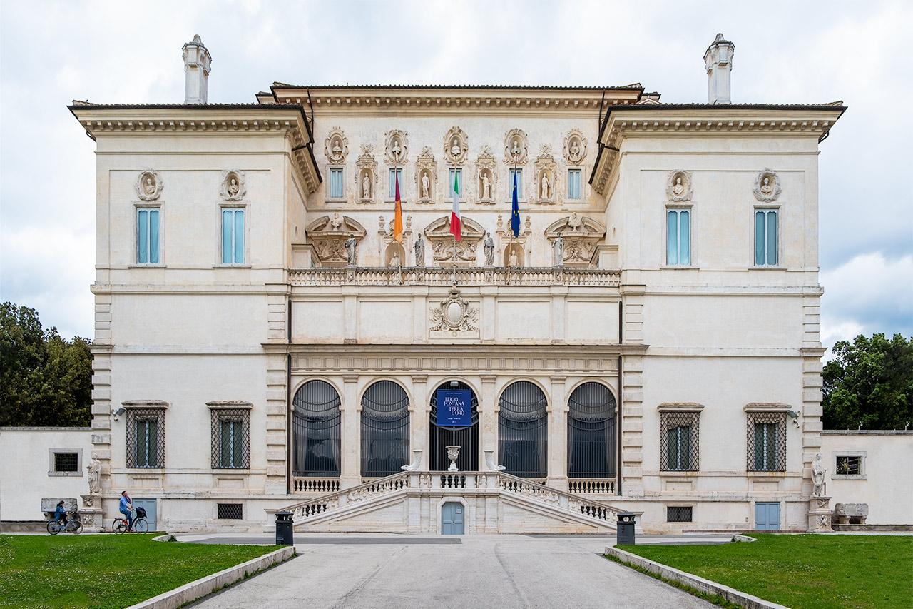 Lucio Fontana. Terra e oro - ingresso