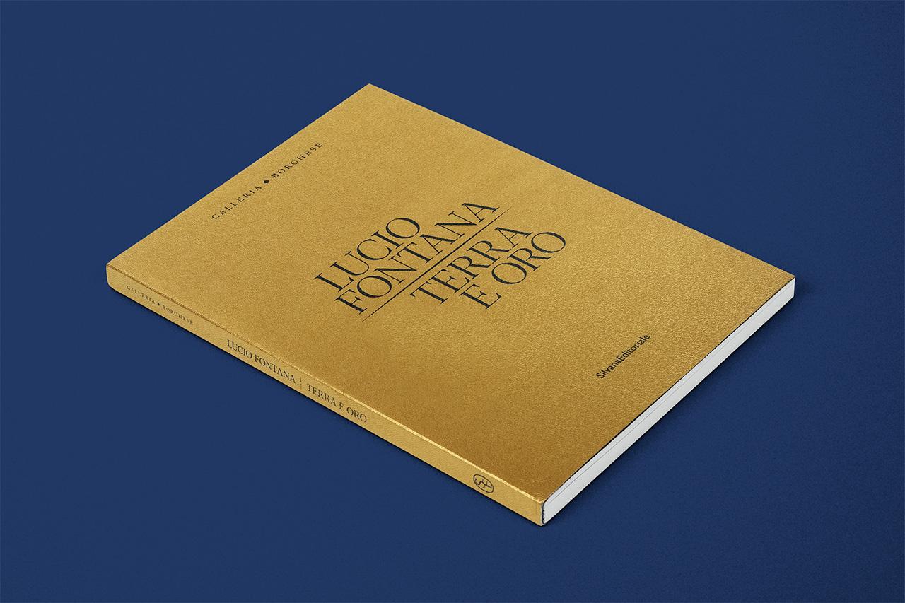 Lucio Fontana. Terra e oro - catalogo