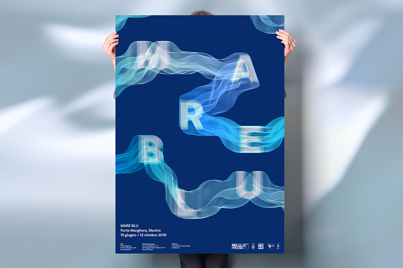 Mare blu - poster