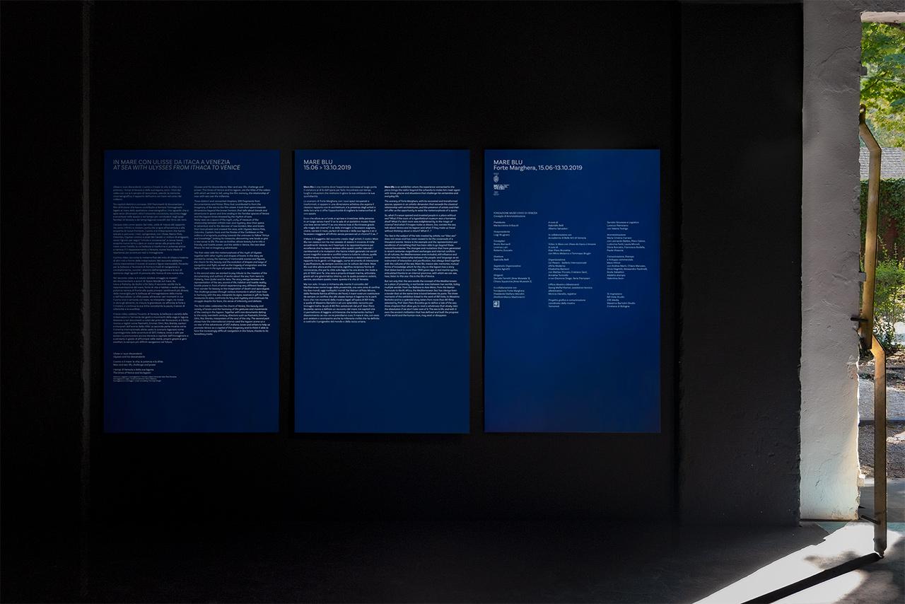 Mare blu - pannelli