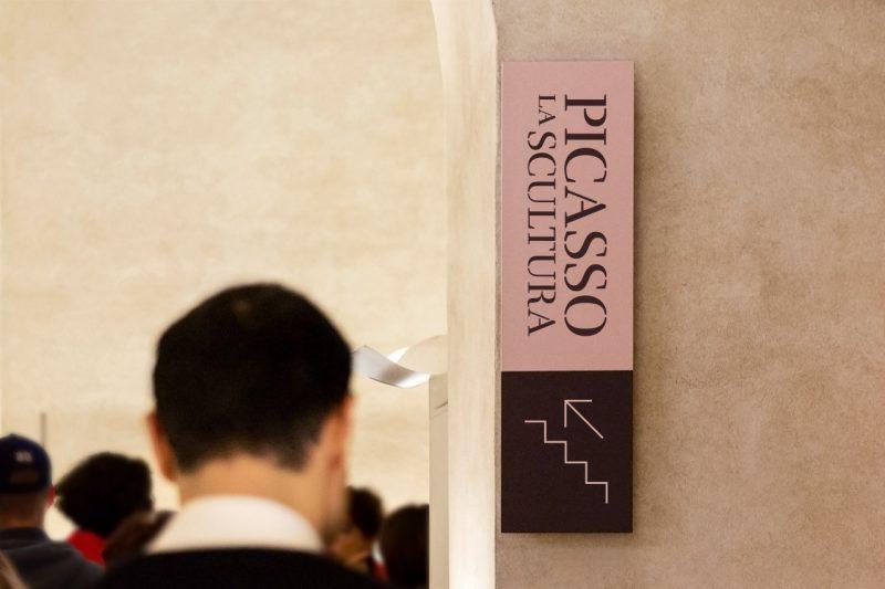 Picasso. La scultura – segnaletica
