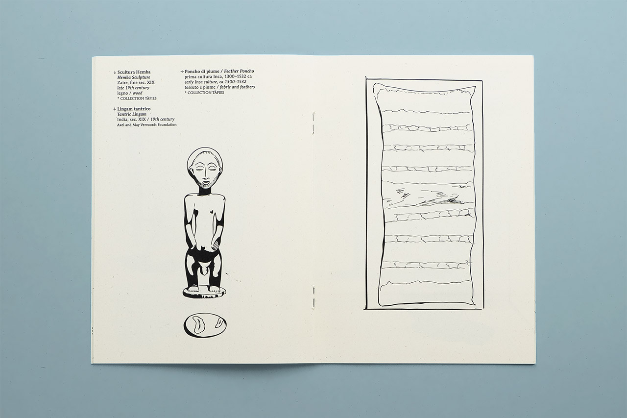 I libretti di Palazzo Fortuny - Tàpies spread pages