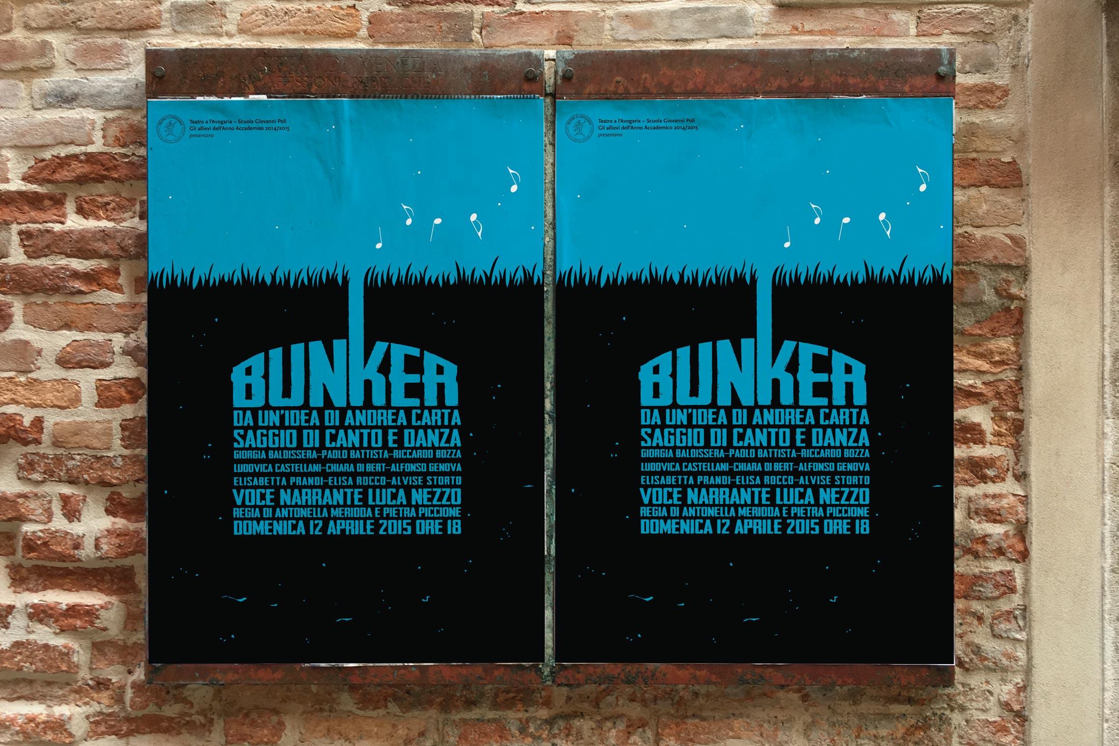 Bunker - locandine