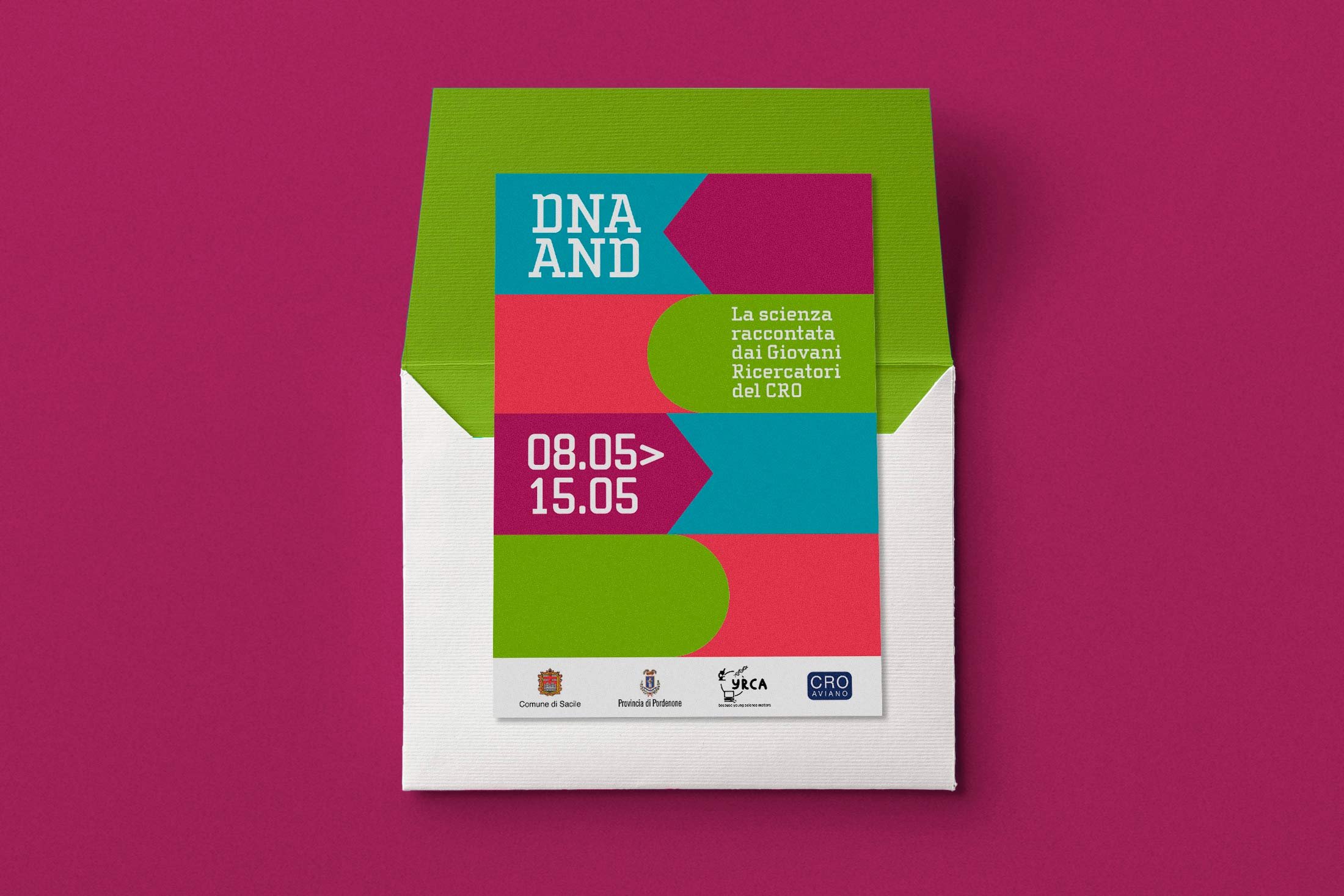 DNA AND - flyer