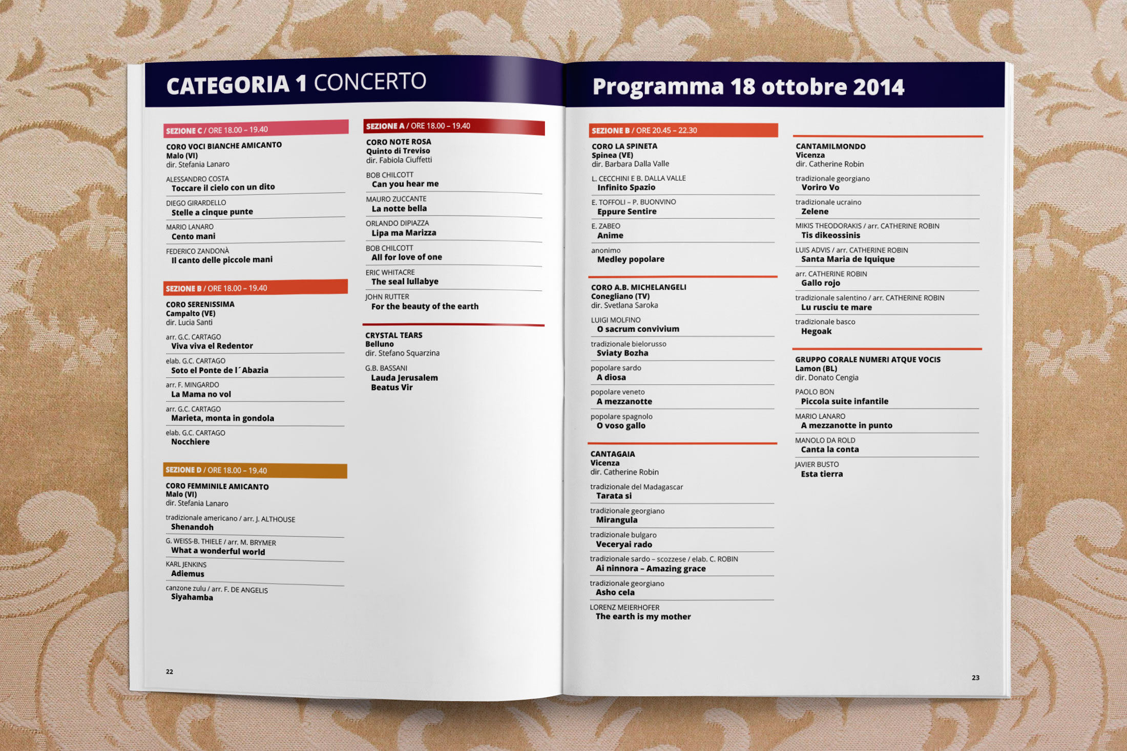 Festival della Coralità Veneta - libretto 4