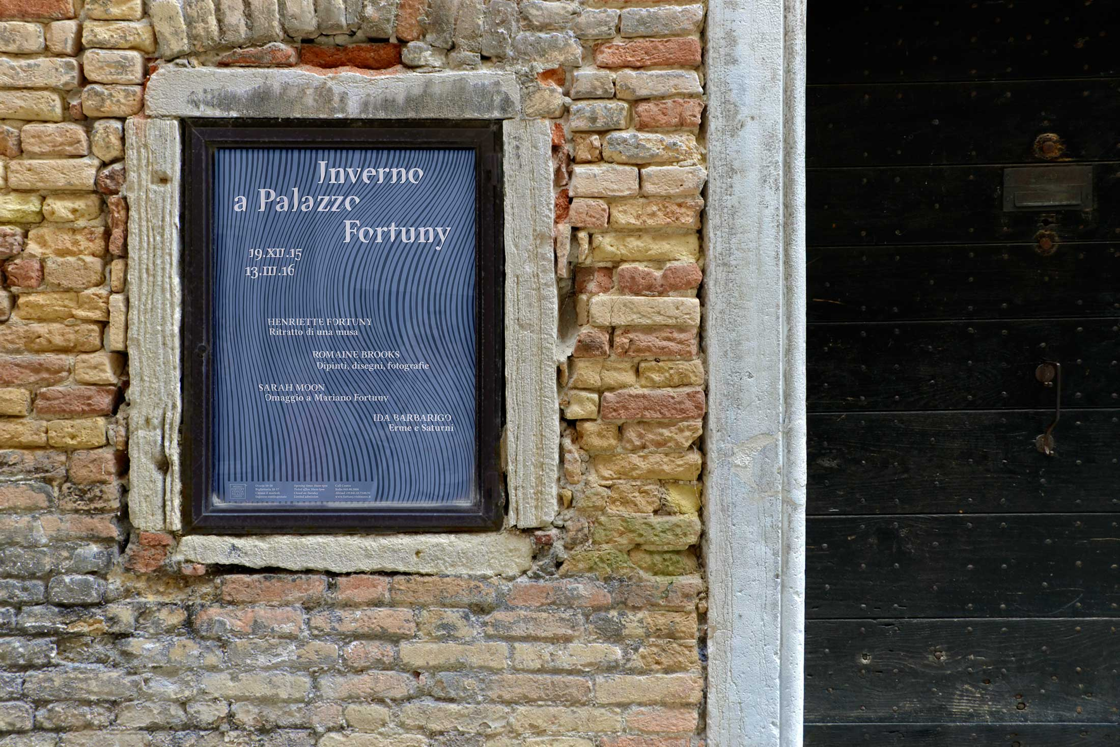 Inverno a Palazzo Fortuny - locandina