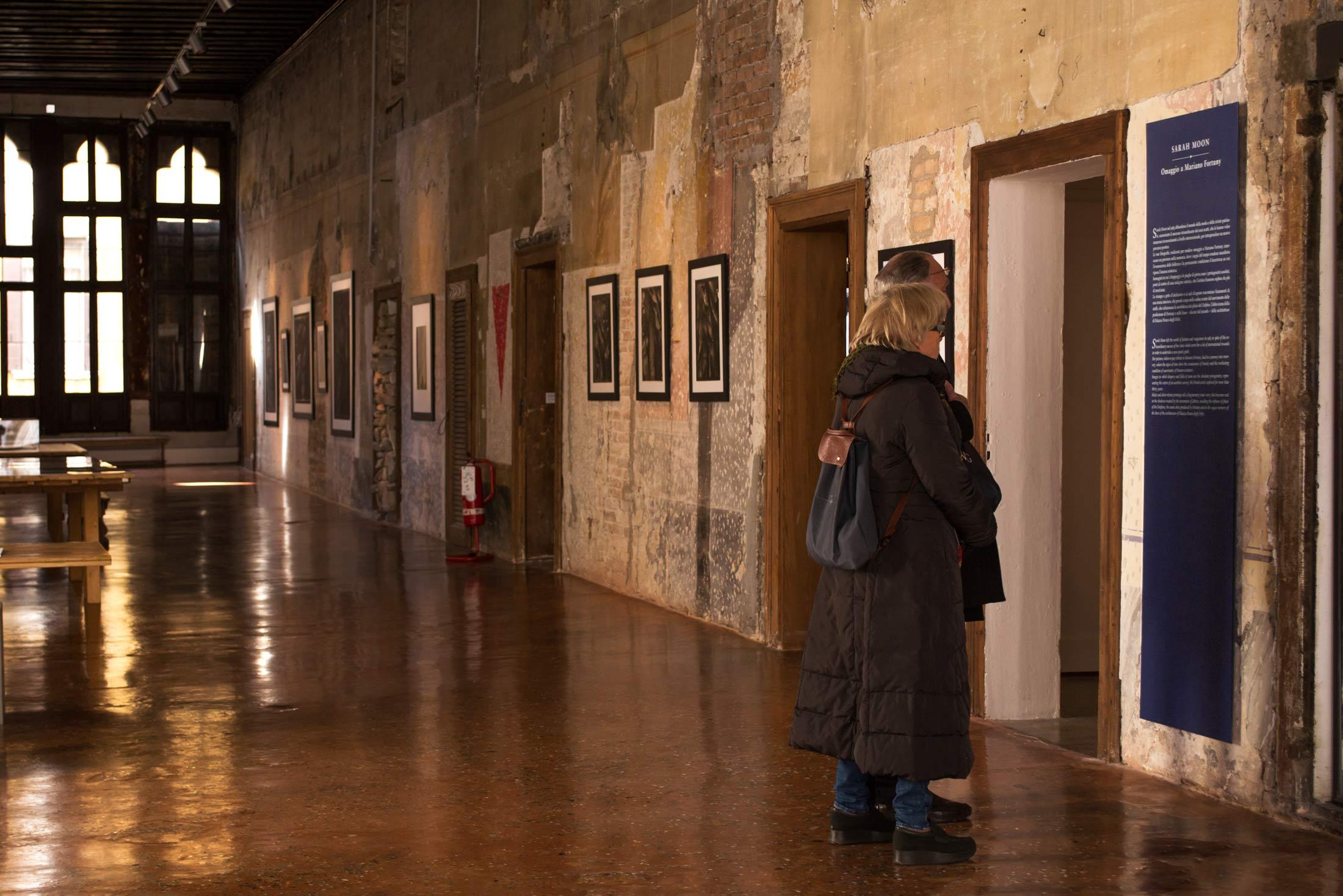 Inverno a Palazzo Fortuny - interno mostra 4