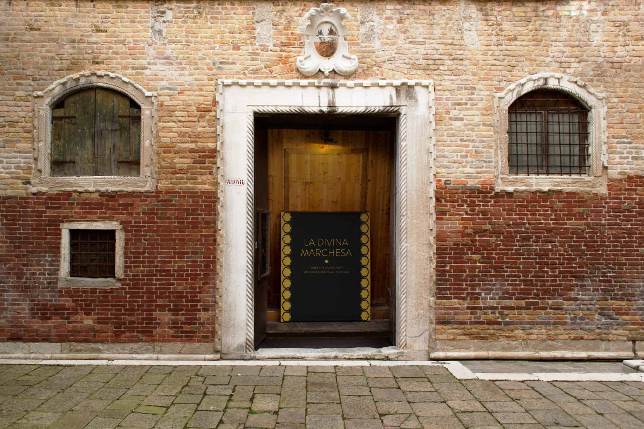 La Divina Marchesa - esterno Palazzo Fortuny
