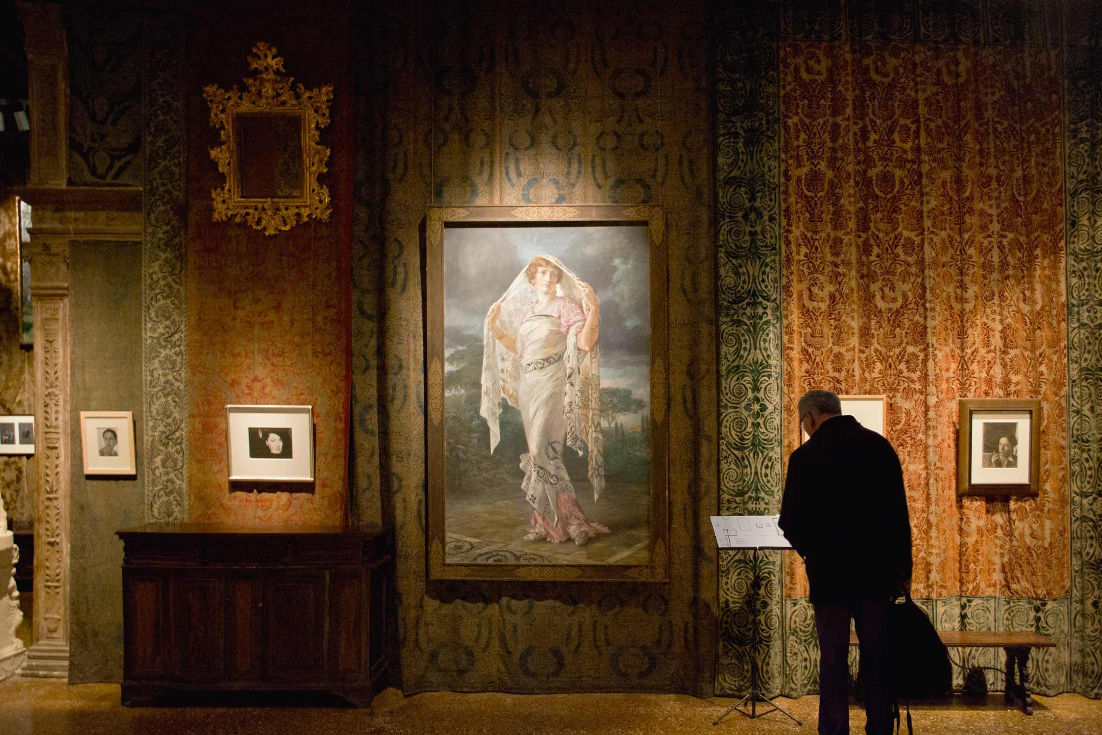 Primavera a Palazzo Fortuny - interno mostra 1