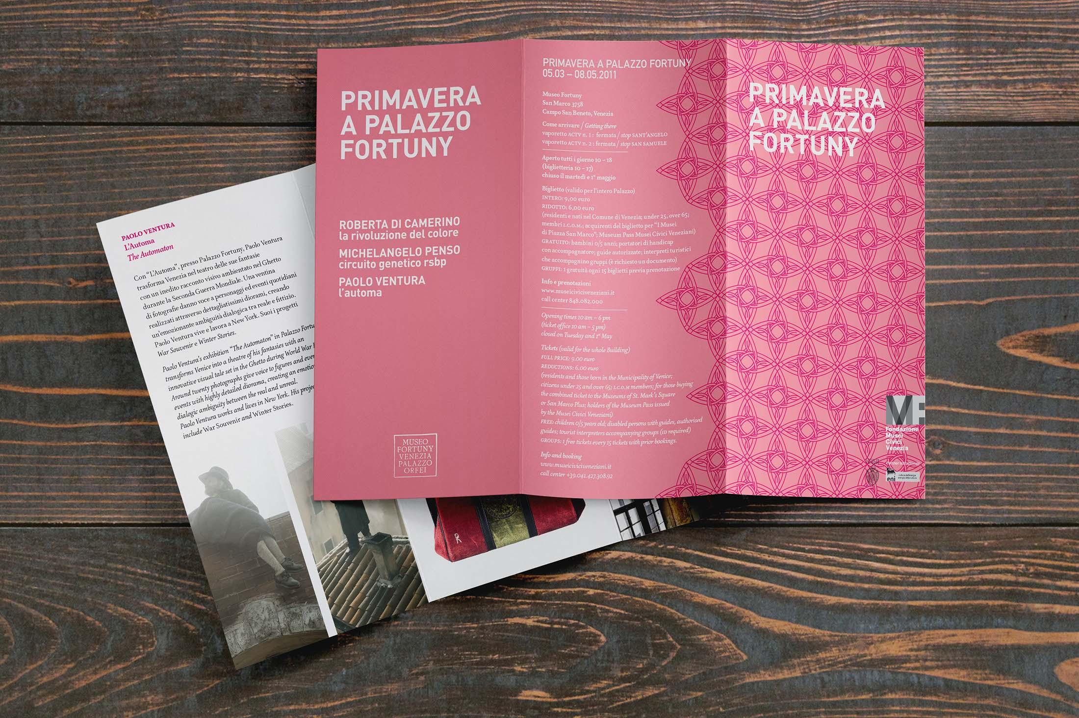 Primavera a Palazzo Fortuny - brochure