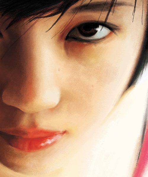 La ragazza di Pechino - particolare